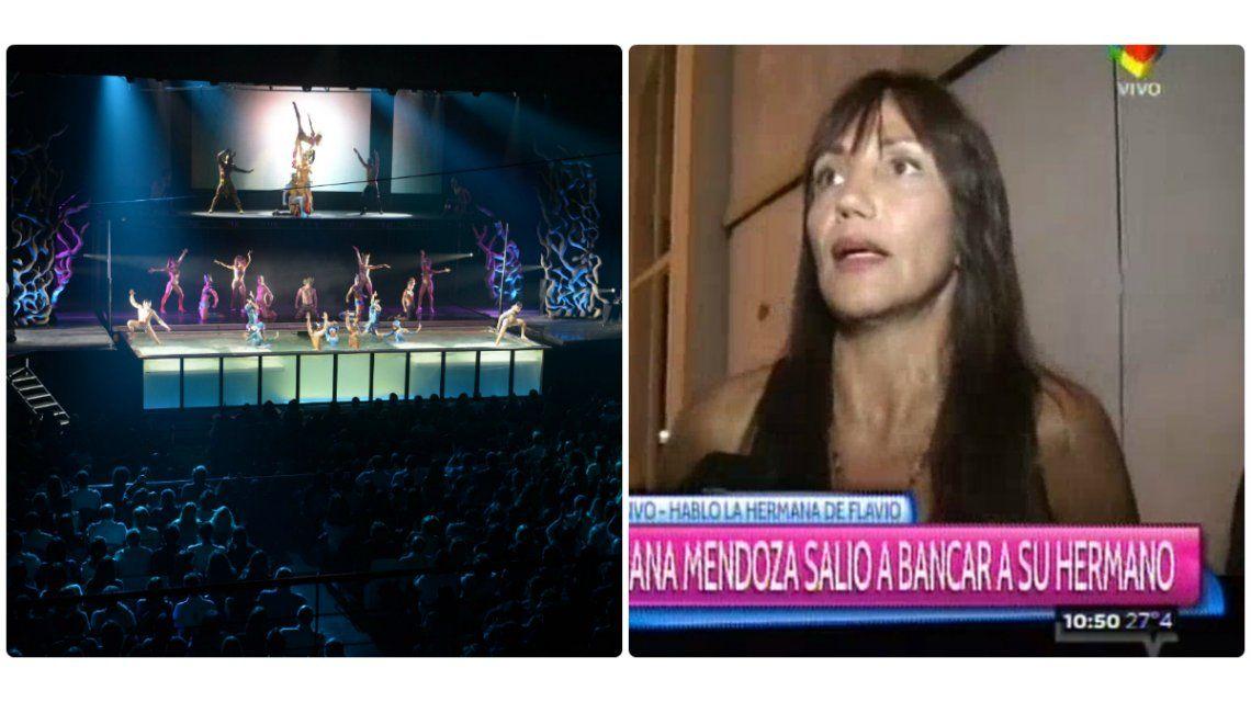 La hermana de Flavio Mendoza: A Stravaganza no lo van a bajar los mediocres que lo intentan hacer