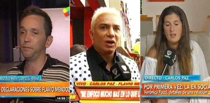 Todos contra Flavio Mendoza: Diego Reinhold y su ex socia, Verónica Fucci, denuncian amenazas, violencia y tortura