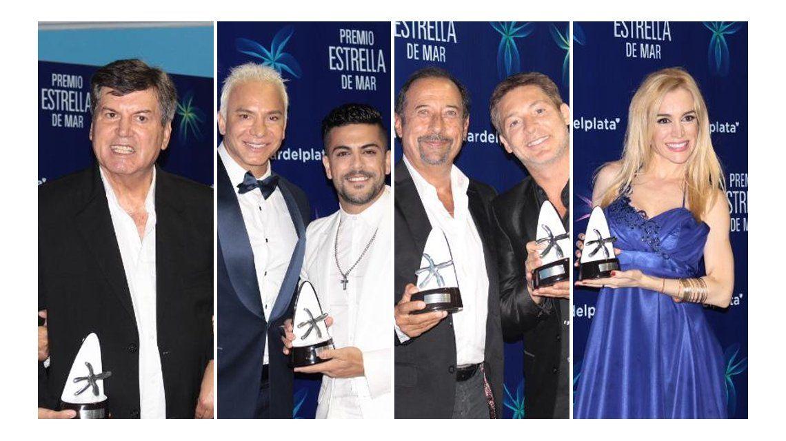 Mar del Plata: Estos son todos los ganadores de los premios Estrella de Mar
