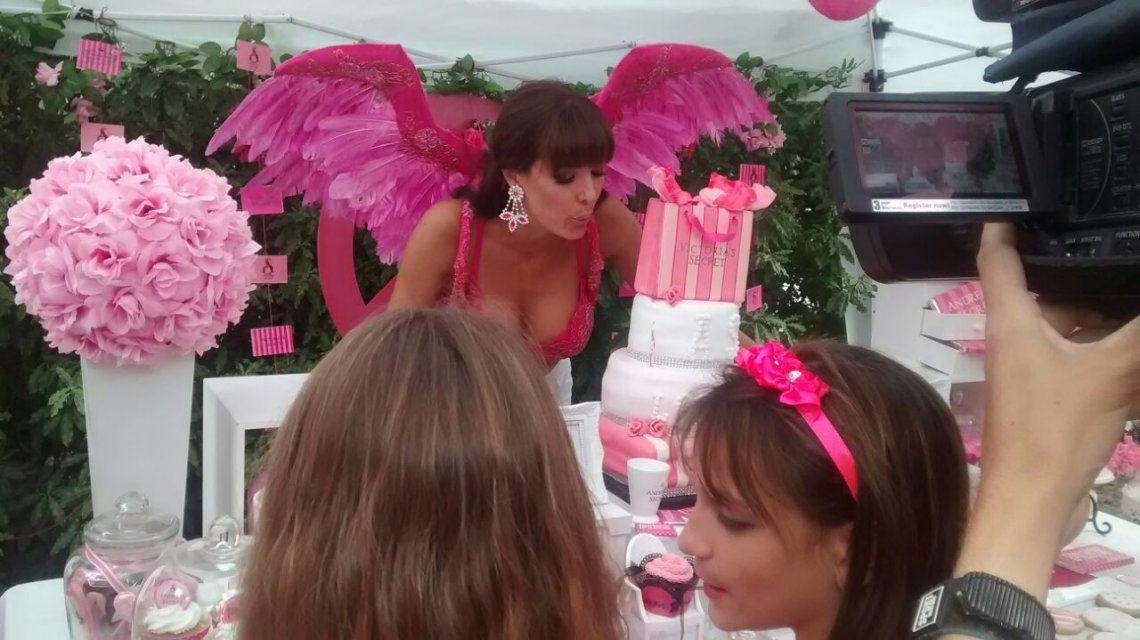 La fiesta temática de Andrea Estévez para celebrar su cumpleaños