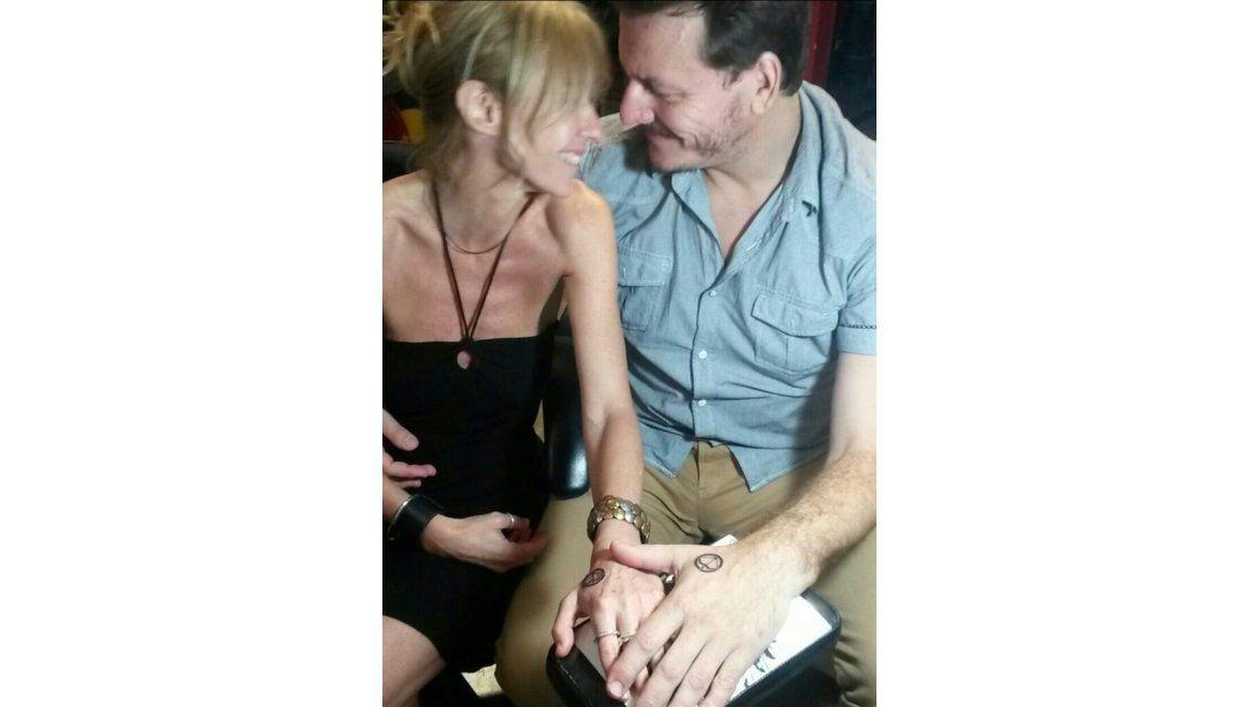 Inés Estevez y Javier Malosetti, con el amor grabado en la piel
