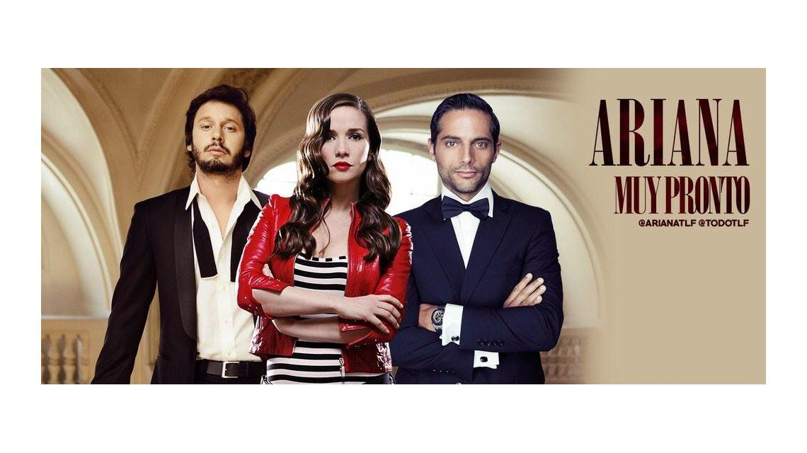 Ariana, la nueva novela de Oreiro, Vicuña y Furriel, ya tiene su aviso de lanzamiento