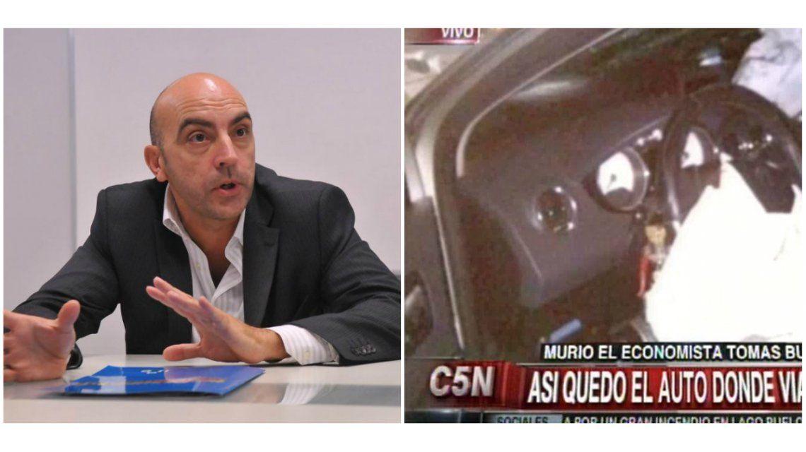En un accidente de tránsito, murió el periodista y economista Tomás Bulat