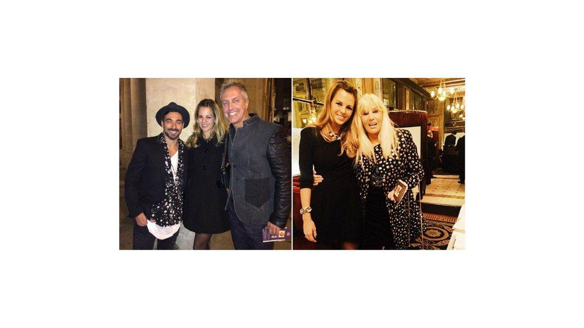 ¡Qué trío! Susana Giménez celebró su cumpleaños con Marley y el Pocho Lavezzi