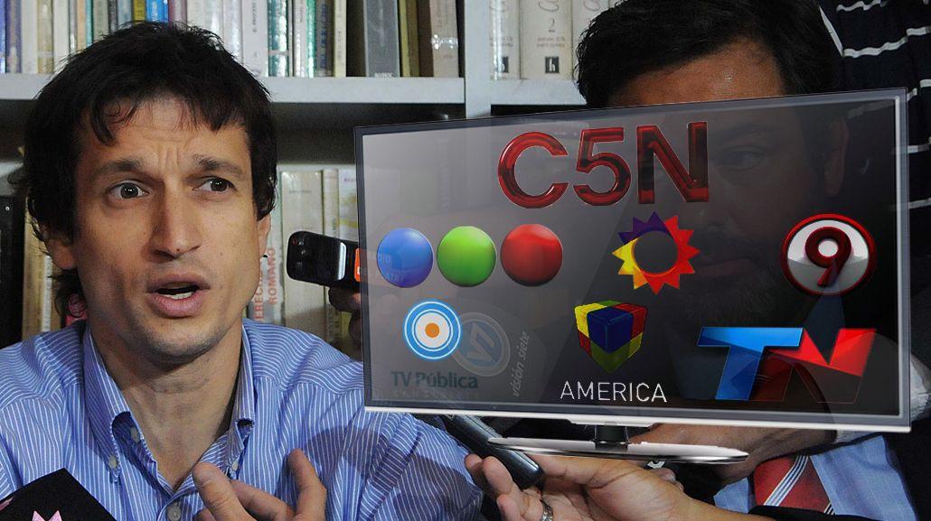Muerte de Nisman: Los canales cambiaron su agenda por la conferencia de Lagomarsino