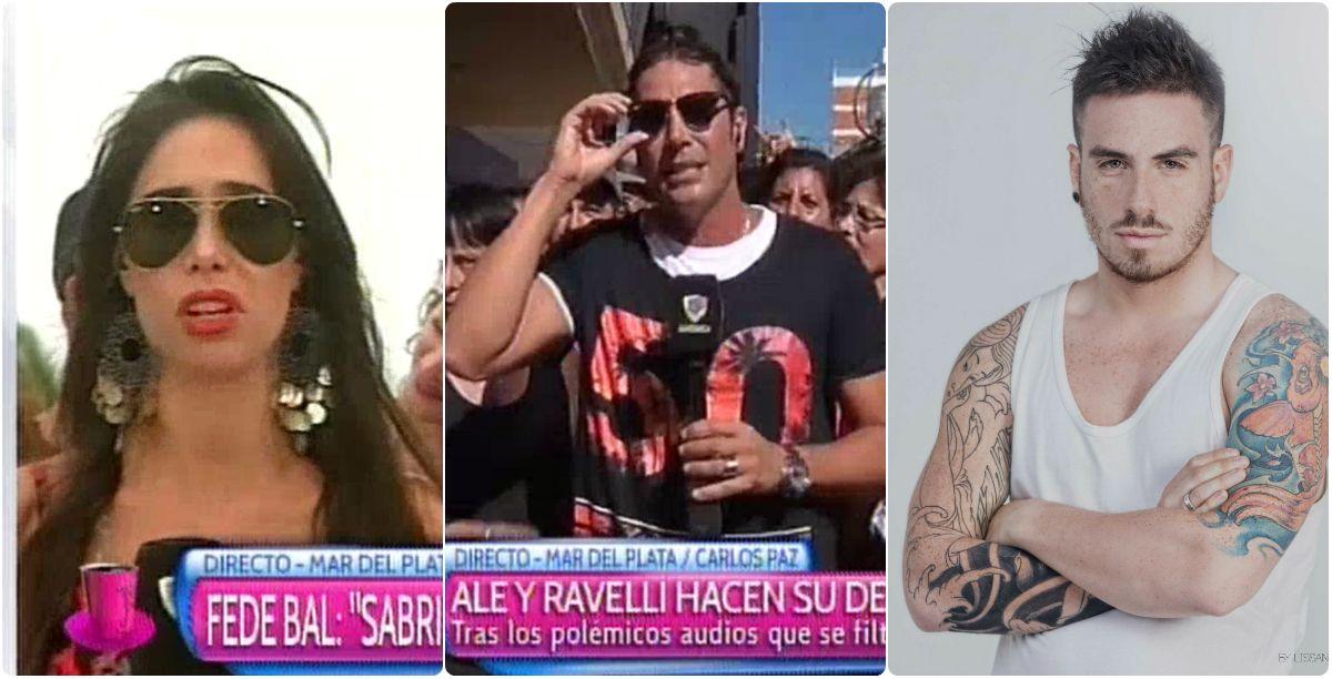 Después de las polémicas frases de Fede Bal, la fuerte respuesta de Matías Alé y Sabrina Ravelli