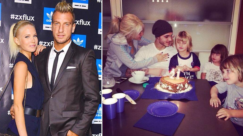 Maxi López habló de todos: Wanda, Icardi, sus hijos y su nueva novia sueca