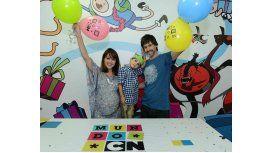 Valeria Gastaldi, a punto de ser mamá, festejó el cumpleaños de su hijo