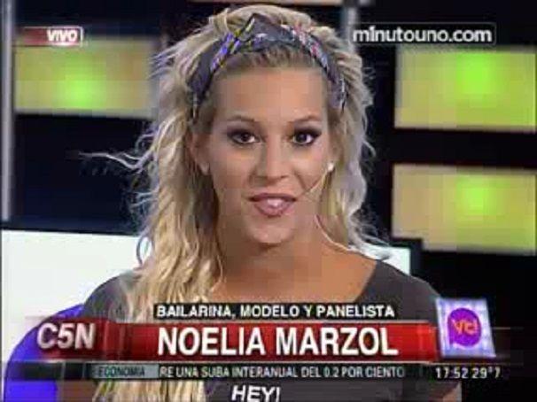Noelia Marzol se disculpó con Pipita Higuaín por decir que él le mandó mensajes