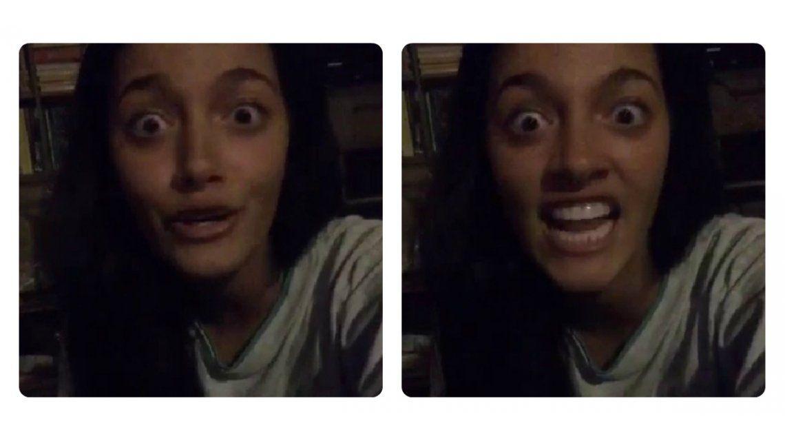 El video de terror de Oriana Sabatini