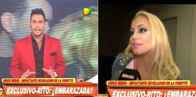 ¿María Eugenia Ritó, embarazada?: habla la vedette que recién se puso de novia y ya tiene un atraso
