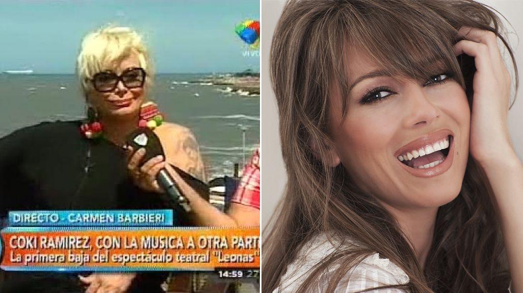 Las ironías de Carmen Barbieri con Coki Ramírez por su salida de Leonas: Perdió un trabajo por...