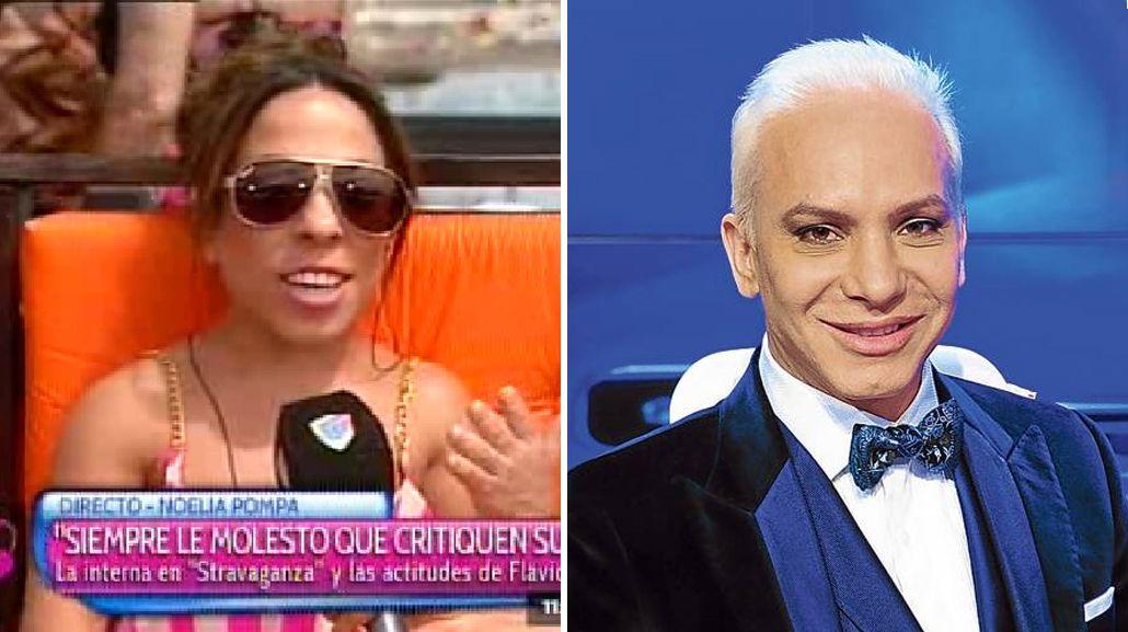 Noelia Pompa habló de las peleas de Flavio Mendoza, calcando sus declaraciones