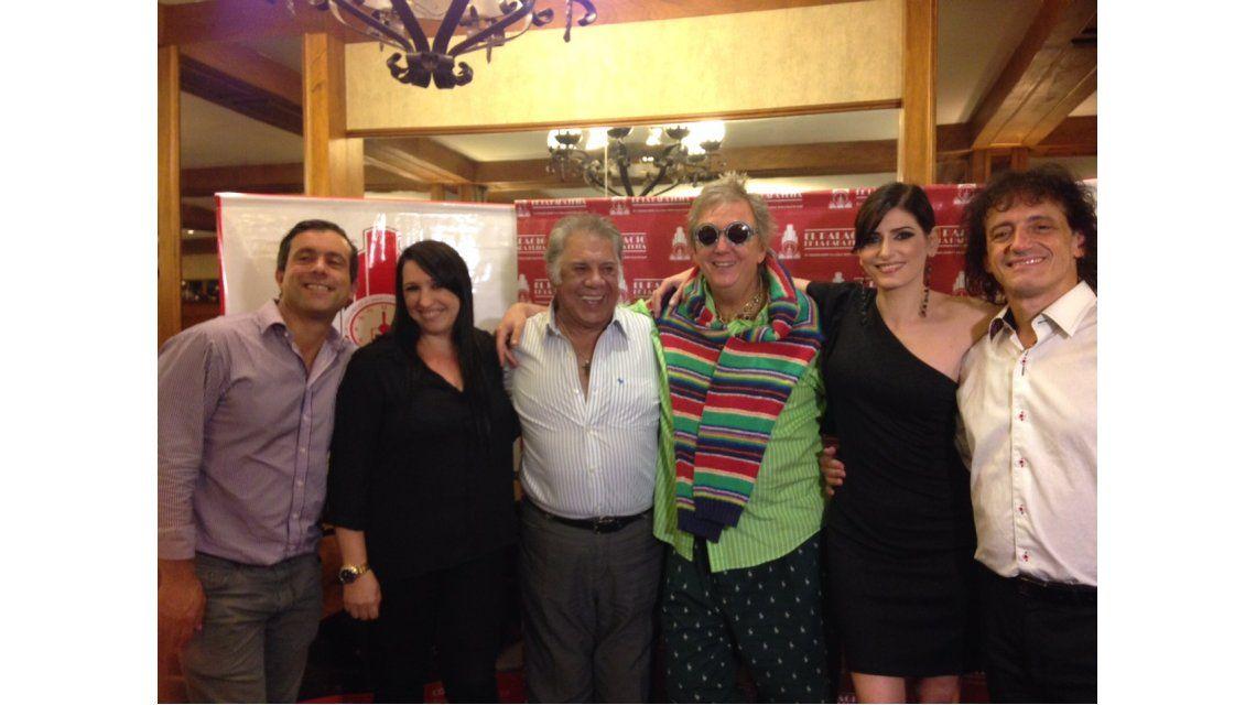 Pepe Cibrián, Milone y Raúl Lavié festejaron el éxito de El hombre de la mancha
