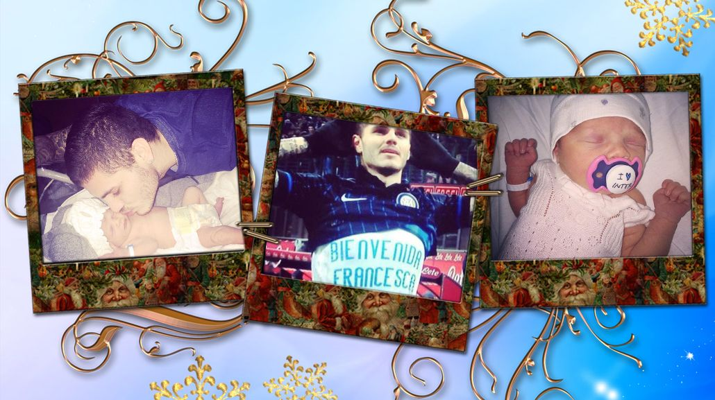 El mejor gol de Maurco Icardi y la especial dedicatoria a su hija: Wanda y Francesca, sus fanáticas