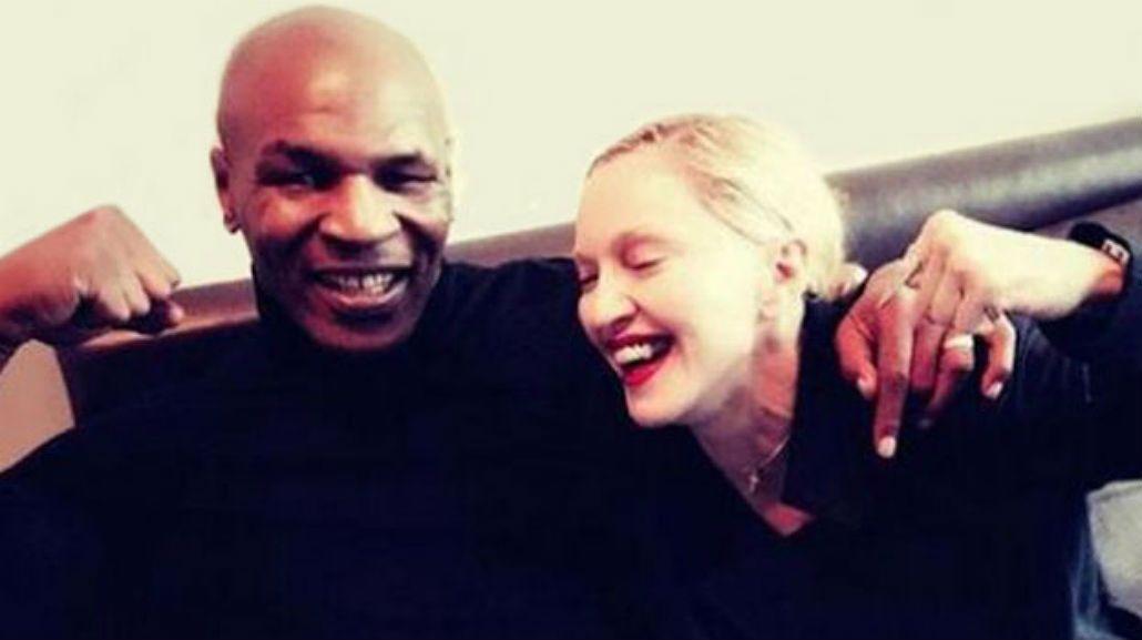 Mike Tyson debuta como cantante pop: Madonna lo convocó para su último álbum