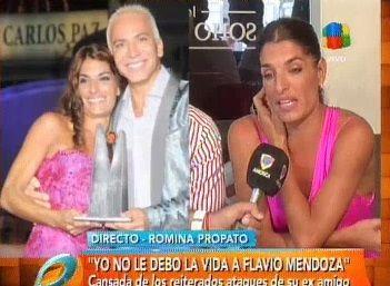 Romina Propato: Flavio estaba celoso de Mariano y de mi familia; me dijo que no lo soportaba