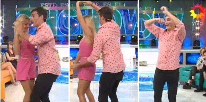 Dispuesto a todo por la fama: Así se postula Martín Amestoy para el Bailando 2015