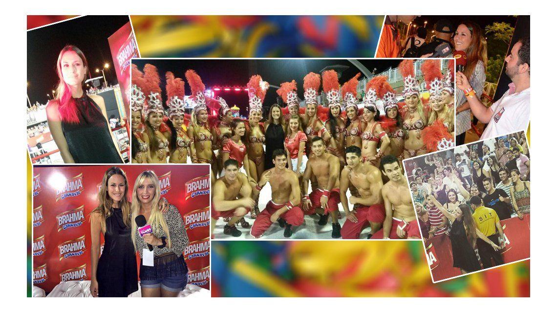 Después de las críticas Luli Fernández se mostró en Paraguay