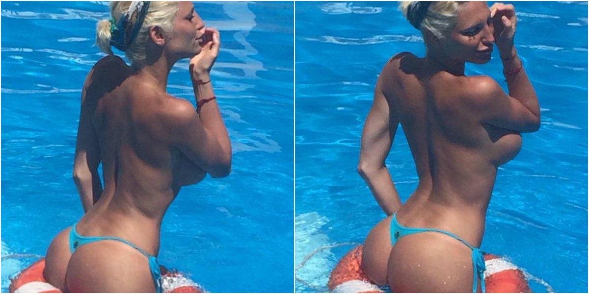 Vicky Xipolitakis le saca el jugo a su tiempo libre, pero no está sola en el agua