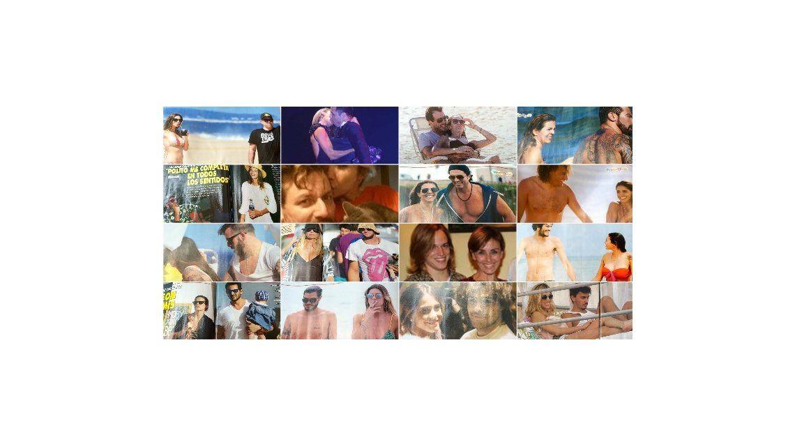 Parejas 2015: todas las fotos, todos los romances; las polémicas y el amor