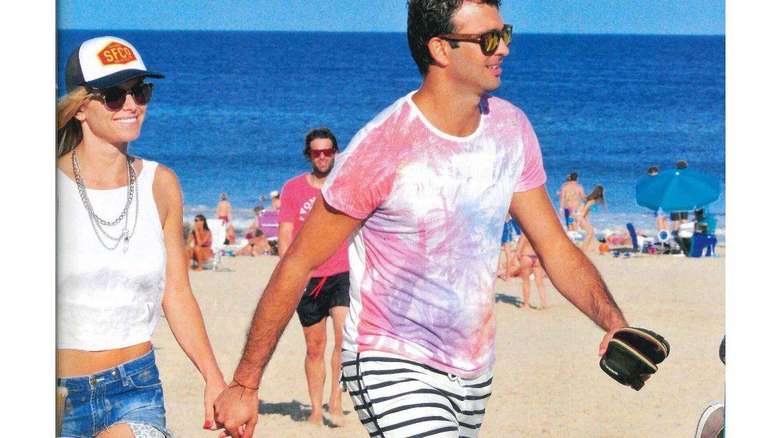 Sofía Zámolo, feliz con su nuevo novio en Punta del Este