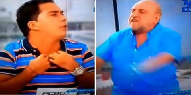 La feroz pelea de Horacio Pagani y Martín Arévalo: Te puedo cag.. a trompadas, bolu.. de m...