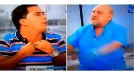 Feroz pelea entre Pagani y Martín Arévalo: Te cag.. a trompadas, bolu.. de m...