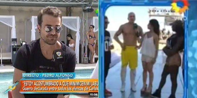 Pedro Alfonso vs Flavio Mendoza: Me molesta que minimice mi trabajo; hay que respetar