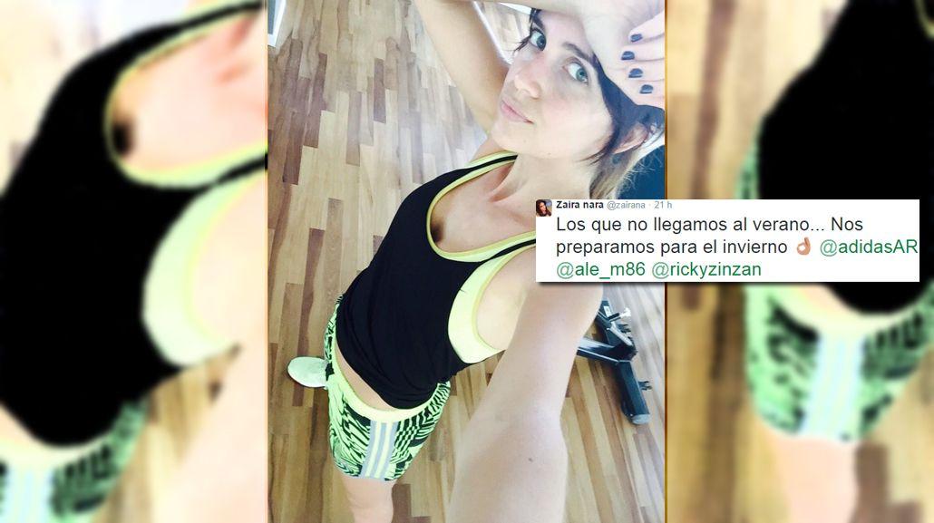 Desubicada es poco: el polémico mensaje de Zaira Nara que potencia la anorexia