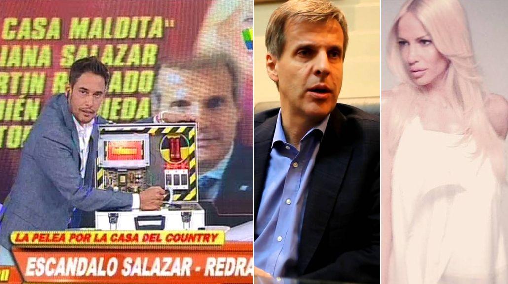 La nueva disputa de Luciana Salazar y Martín Redrado: ¿Quién se queda con la casa de Tortuguitas?