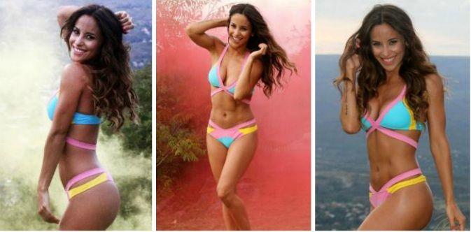 Lourdes Sánchez hace arder el verano