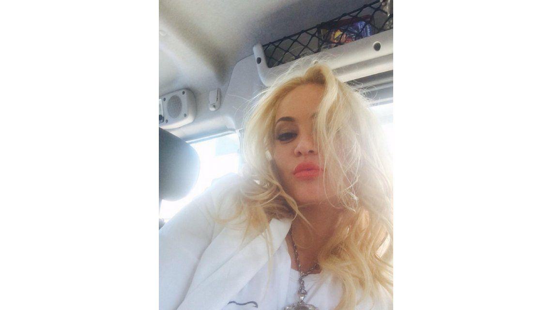 Se internó María Eugenia Ritó: las fotos y sus palabras antes de entrar a la clínica