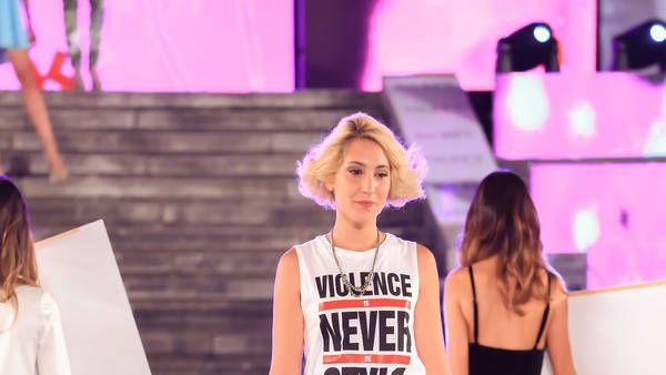 Modelo de entereza: la joven abusada por su padre desfiló en Mar del Plata Moda Show