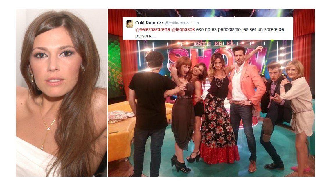Coki Ramírez contra Este es el Show: No es periodismo, es ser un sore... de persona