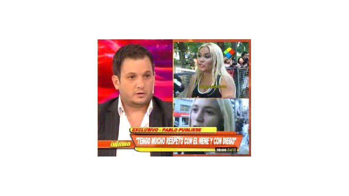 El novio de Verónica Ojeda: Maradona me dijo pu...; cu... roto