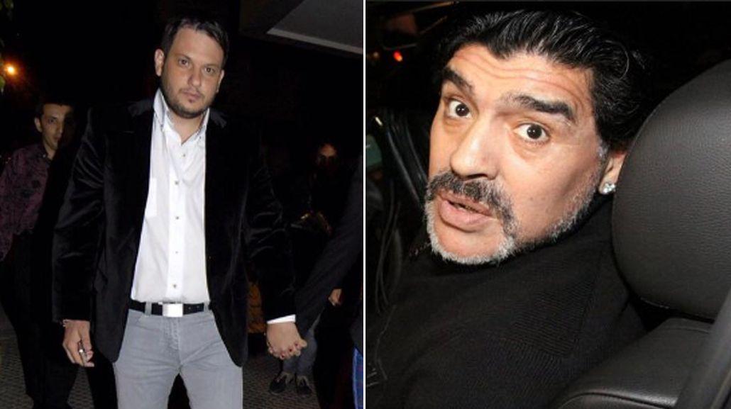 El novio de Ojeda rompió el silencio con una frase desafiante contra Maradona: A ningún boludo le da la nafta para amenazarme