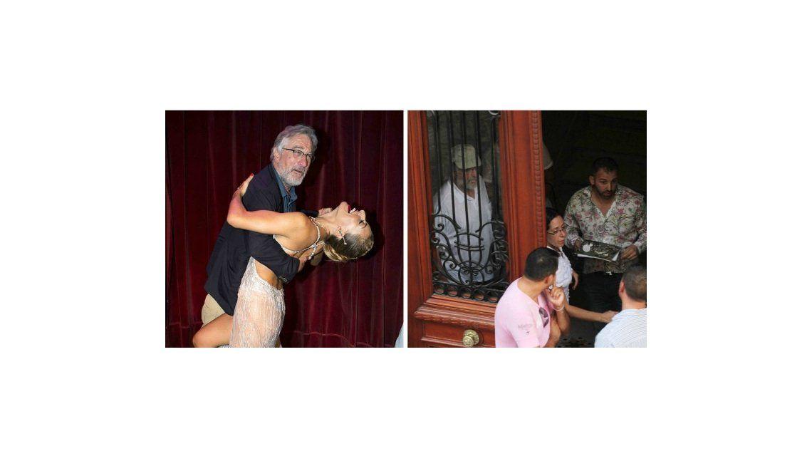 Los días porteños de De Niro: clases de tango, asado y amigos