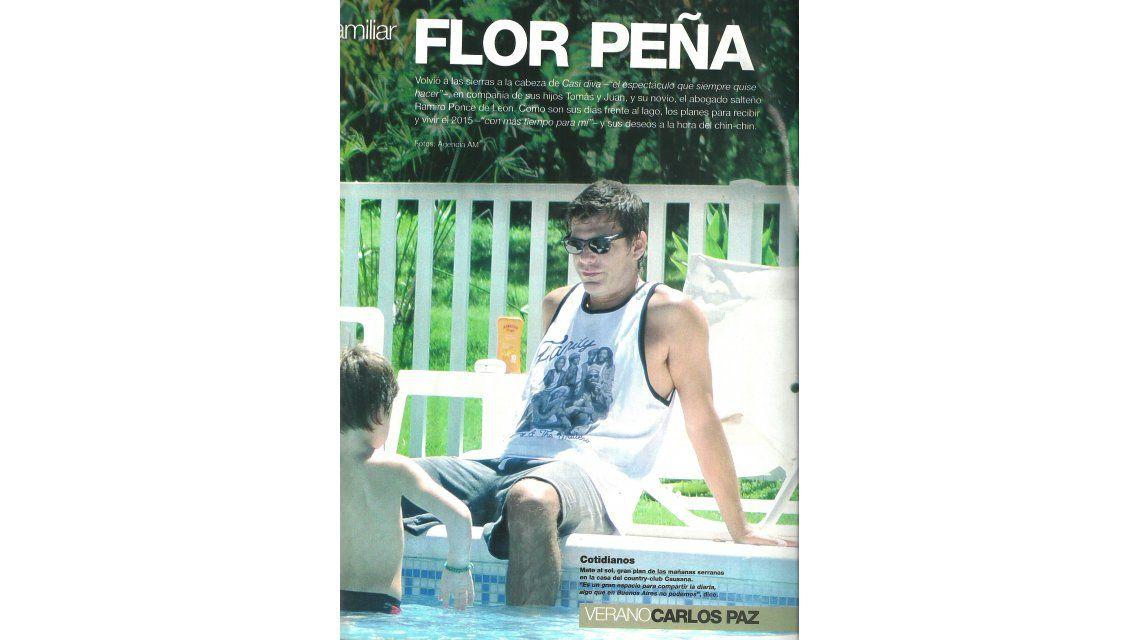 Entre el debut y el amor: las fotos sexies de Flor Peña con su novio