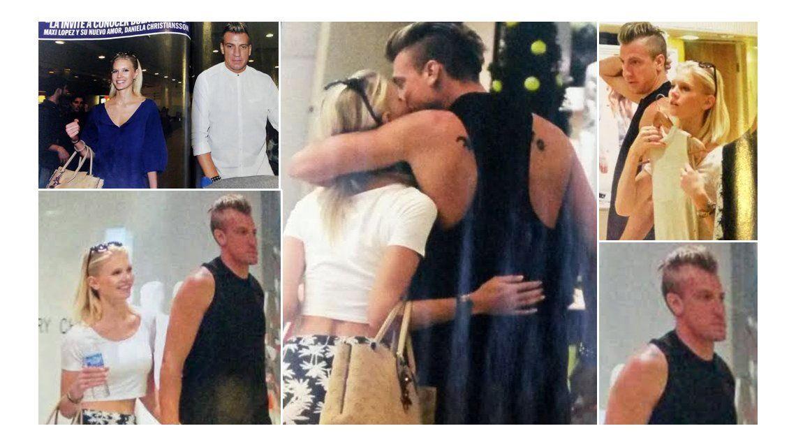 Maxi López trajo a su novia sueca a Buenos Aires para presentársela a su familia
