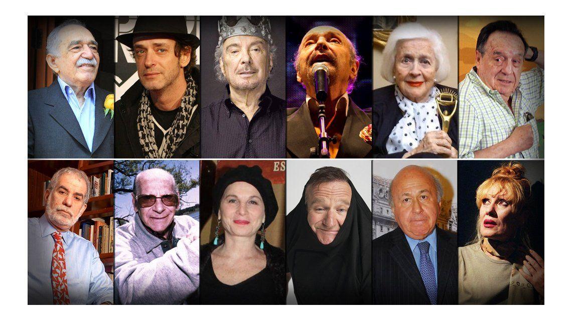 Se fueron de gira: los artistas que partieron éste año