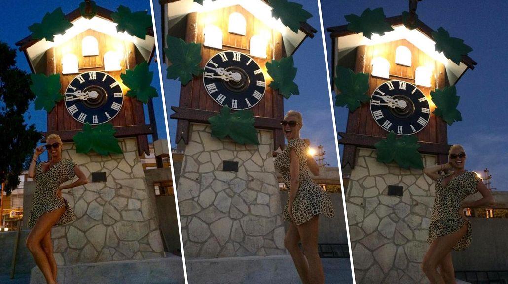 Vicky Xipolitakis de gira por Villa Carlos Paz: Visitando al Cucú