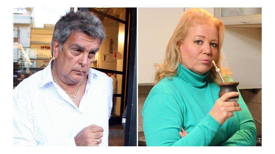 Luis Ventura y Estelita: separados