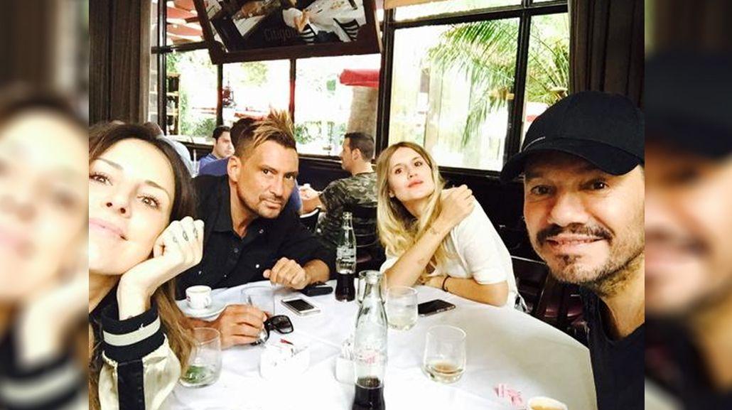 El almuerzo familiar de Marcelo Tinelli y las chicanas con su primo El Tirri
