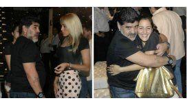 ¿Su preferida? Maradona eligió a Jana para celebrar el Día del Padre: asado en Devoto