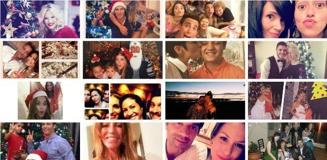 ¡Feliz Navidad! Así reflejaron los famosos el festejo en Twitter