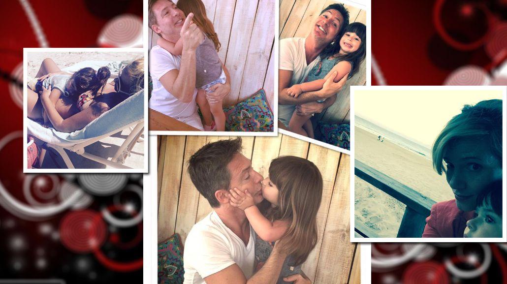 Griselda Siciliani y Adrián Suar ya están en Punta del Este para pasar las fiestas: sus fotos con Margarita