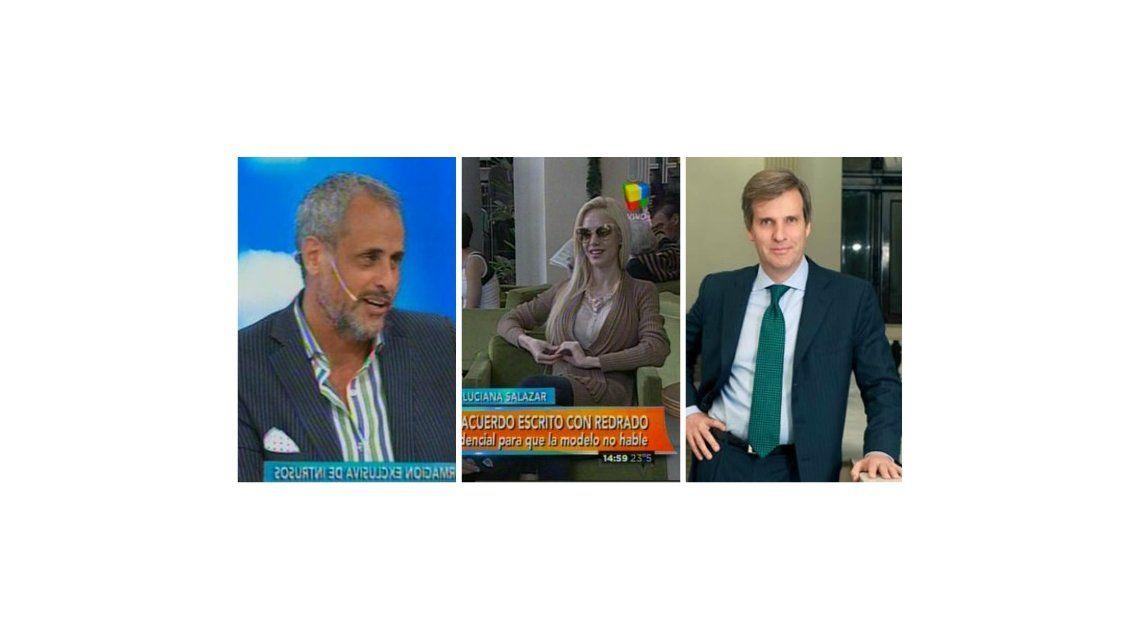 Jorge Rial a Luciana Salazar: Cuando empezaron a salir, Martín Redrado me preguntó si eras gato