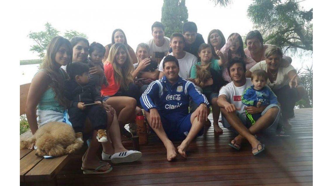 Lionel Messi ya está en Rosario para celebrar las fiestas con su familia