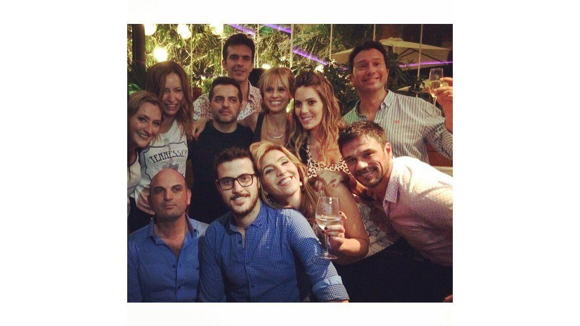 Las fotos del festejo de fin de año de El diario de Mariana